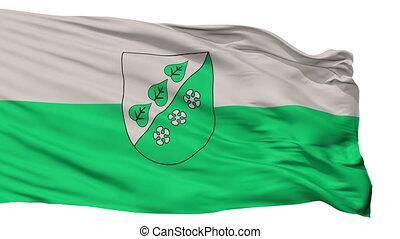 Isolated Sigulda city flag, Latvia - Sigulda flag, city of...