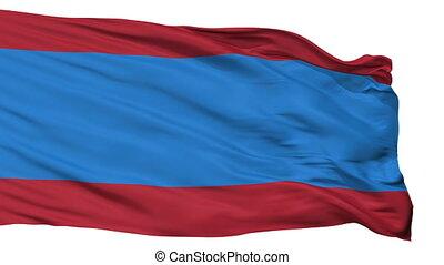Isolated Sindi city flag, Estonia - Sindi flag, city of...
