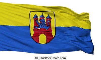 Isolated Soltau city flag, Germany - Soltau flag, city of...