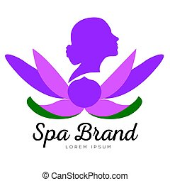 Isolated spa logo