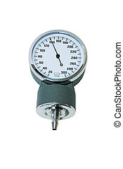 Isolated Sphygmomanometer at 140 mm HG