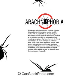 Isolated spider vector logo. Insect illustration. Arachnophobia. Halloween icon.