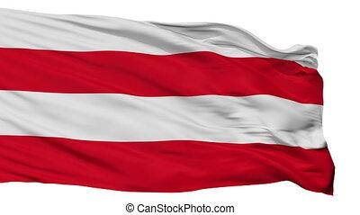Isolated Suure Jaani city flag, Estonia - Suure Jaani flag,...