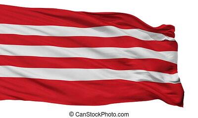 Isolated Tapa city flag, Estonia - Tapa flag, city of...