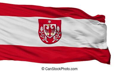 Isolated Teltow city flag, Germany - Teltow flag, city of...