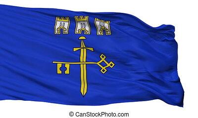 Isolated Ternopil Oblast flag, Ukraine - Ternopil Oblast...
