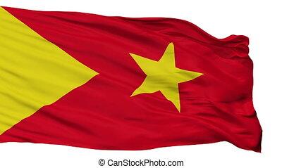 Isolated Tigray Region city flag, Ethiopia - Tigray Region...