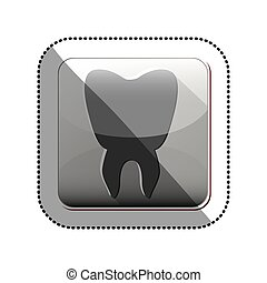 Isolated tooth design