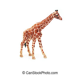 Isolated Toy Giraffe
