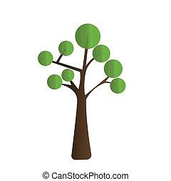 Isolated tree icon