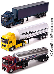 Isolated trucks