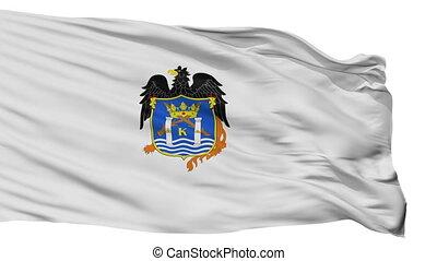 Isolated Trujillo city flag, Peru - Trujillo flag, city of...