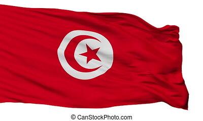 Isolated Tunisia city flag, Tunisia - Tunisia flag, city of...