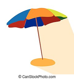 Isolated umbrella icon