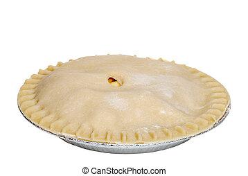 Uncooked apple pie