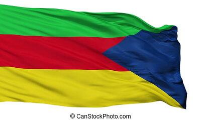 Isolated Upala city flag, Costa Rica - Upala flag, city of...