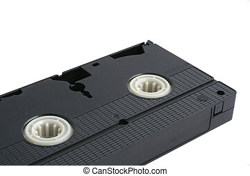 isolated VHS tape -