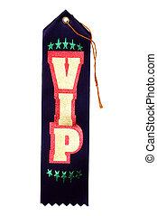 VIP Ribbon - Isolated VIP Ribbon