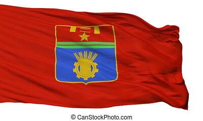 Isolated Volgograd city flag, Russia - Volgograd flag, city...