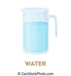 Isolated water jug.