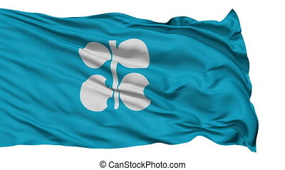 Isolated Waving Flag Organization of Petroleum Exporting...