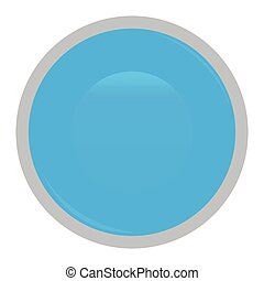 Isolated web button
