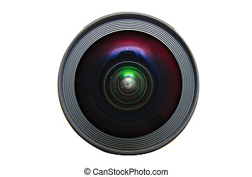 Isolated wide angle lens - Isolated wid angle lens
