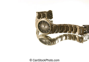 Isolated Wrist Watch - White Background