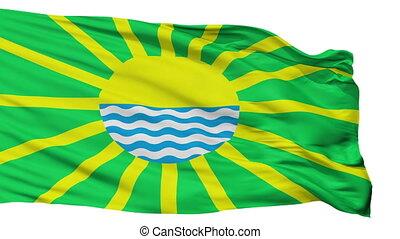 Isolated Yarovoe city flag, Russia - Yarovoe flag, city of...