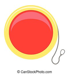 Isolated yo-yo toy icon