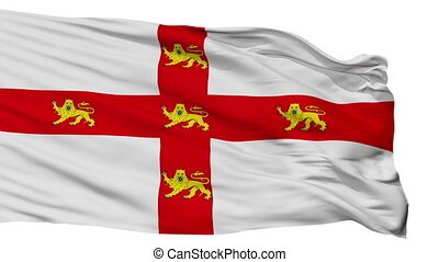 Isolated York city flag, UK - York flag, city of UK,...