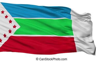 Isolated Zarcero city flag, Costa Rica - zarcero flag, city...