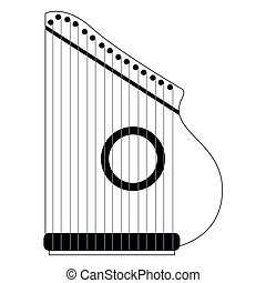 zither clip art vector graphics 63 zither eps clipart