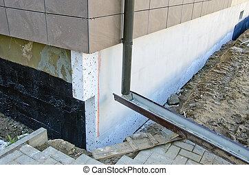 fondation mat riel thermique construction isolation photos de stock rechercher des. Black Bedroom Furniture Sets. Home Design Ideas