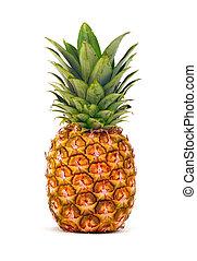 isolato, ananas