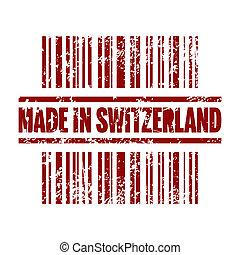 isolato, illustrazione, singolo, vettore, svizzero, icona