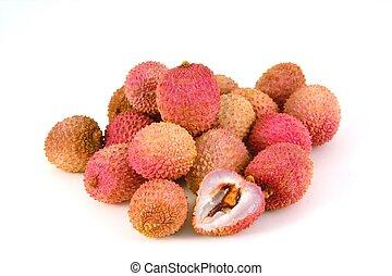 isolato, lychees