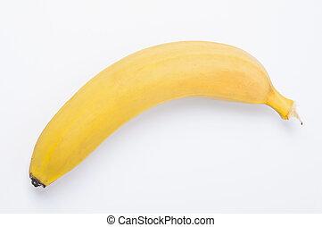 isolato, singolo, banana