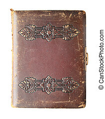 isolerat, antikvitet, bok