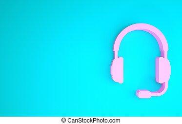 isolerat, operator., musik, ikon, 3, begrepp, mikrofon, ...
