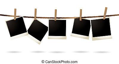 isolerat, polaroidkamera