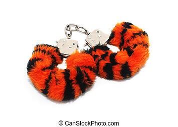 isoleret, furry, handcuffs