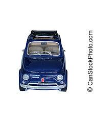 isoleret, model, i, automobilen