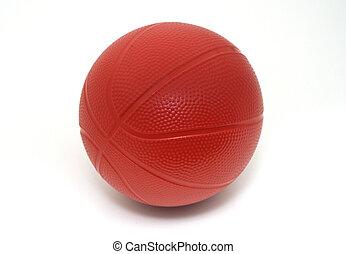 isoleret, stykke legetøj, basketball