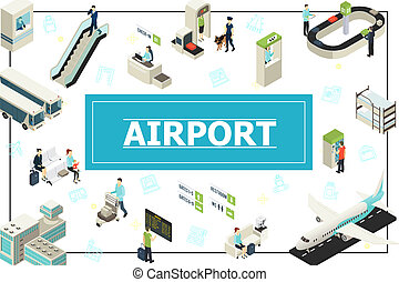 Isometric Airport Concept