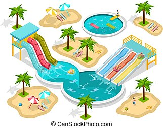 aqua park clipart vector and illustration 847 aqua park clip art rh canstockphoto com water park ride clipart water park clipart free