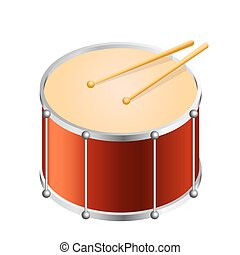 Isometric Bass drum