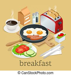 English Breakfast Clipart And Stock Illustrations 2 224