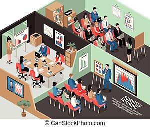 Isometric Business Illustration