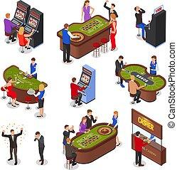 Isometric Casino Set